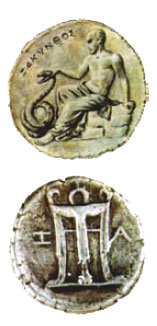 Ancient Zakynthos Coins