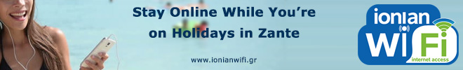 Ionian WiFi - Wireless Internet Provider in Zante Zakynthos island.
